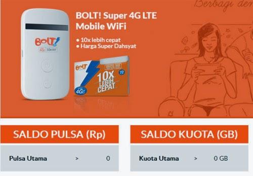 Cara Isi Ulang Pulsa dan Paketan Internet Bolt!