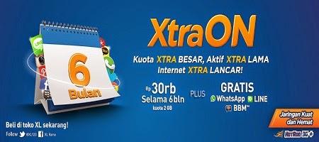 Kartu Perdana Internet XL Kuota Xtra Besar