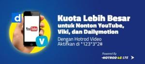 Paket Internet HotRod Video