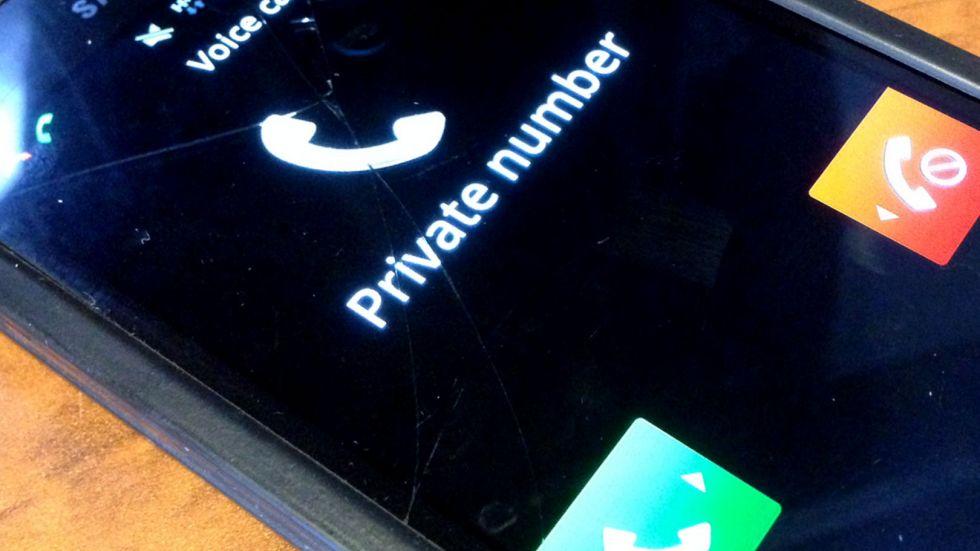 Cara Mengetahui Telephon Private Number