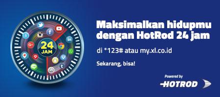 Harga Paket Internet XL HotRod 4G 2016