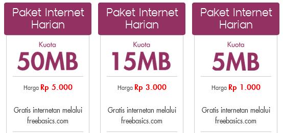 Daftar Paket Internet Indosat Ooredoo Harian