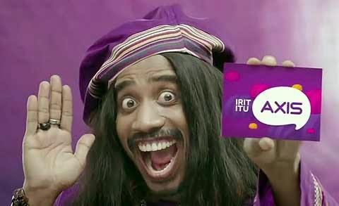 Nembak Paket Internet AXIS