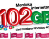 Promo Kemerdekaan Internet 3 Tri 102 GB