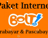 Paket Internet Bolt Prabayar dan Pascabayar Terbaru 2018